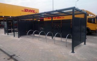 wiaty rowerowe - panel1