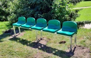 Krzesełka pod Wiaty stadionowe