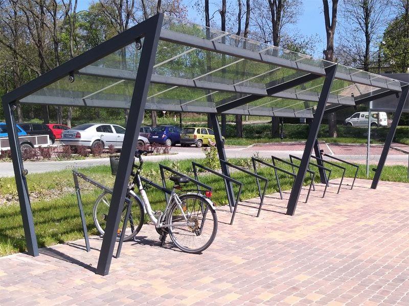 wiaty rowerowe - tytan4