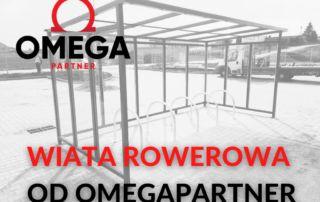 Wiata rowerowa od OmegaPartner